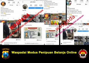 Waspadai Modus Penipuan Belanja Online Polres Blitar Kota News