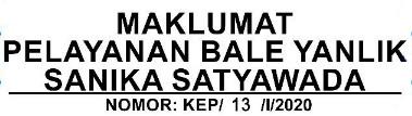 banner maklumat pelayanan